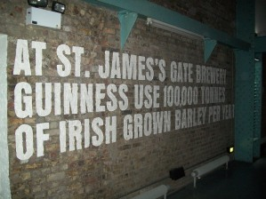 Inside the Guinness Factory