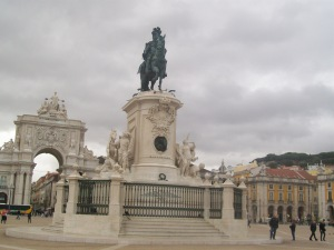 Praça do Comércio - one of the main squares in Lisbon