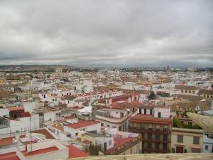 Overlook of Sevilla from Metropol Parasol